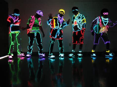 Light Dancers by Dope Neon Clothing Shockblast