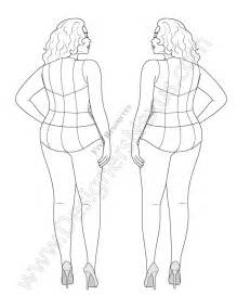 Fashion Templates To Print by Free Of Plus Size Croqui To Use As A Fashion