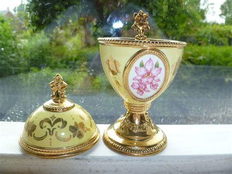 house of faberge musical eggs franklin mint house of faberge orchid music egg catawiki