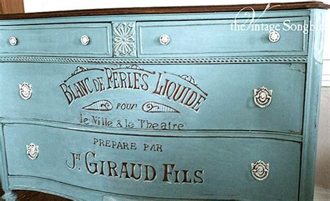 gorgeous hand painted dresser reader featured project