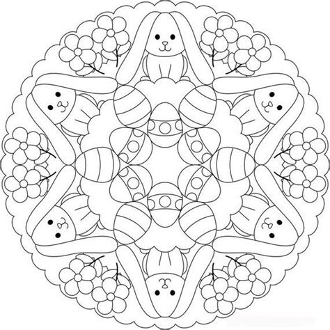 free printable easter coloring pages for adults unique easter coloring pages