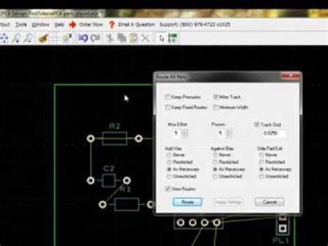 layout editor commands pcb artist video tutorial part 6 chapter 4 the design