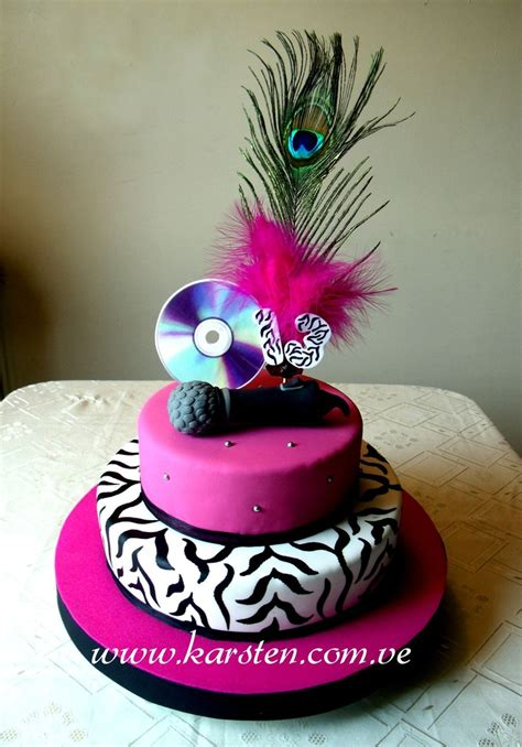 imagenes tortas animal print torta musical animal print pasteles pinterest animal