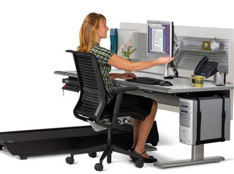 Walking Computer Desk Sit To Walkstation Desk Treadmill Burn Calories While You Work Sit To Walkstation Desk