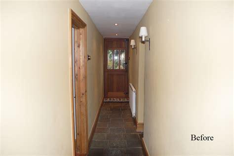 Diy Entryway Door And Hallway Makeover