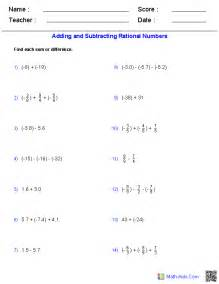 multiplying rational numbers worksheets pichaglobal