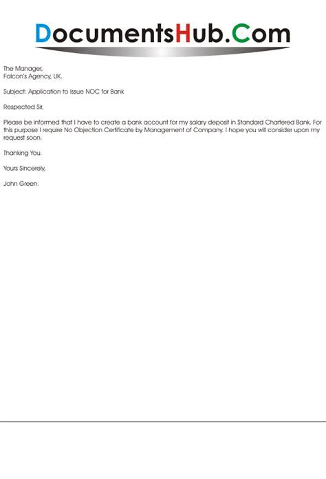 application format for noc letter application for noc documentshub com