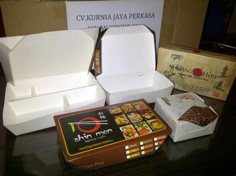 Lunch Box Kertas Ukuran Besar jual kotak makan kertas harga murah semarang p135060