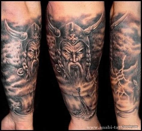 viking sleeve tattoo designs 34 awesome viking tattoos