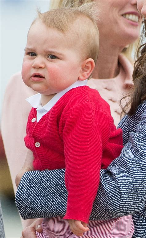 Prince George Meme - source getty chris jackson the many adorable faces of
