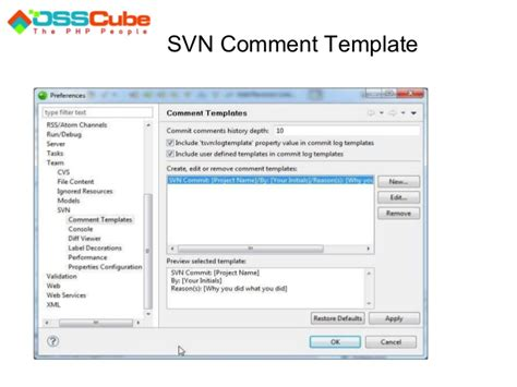 eclipse comment template team development concepts using zend studio for eclipse