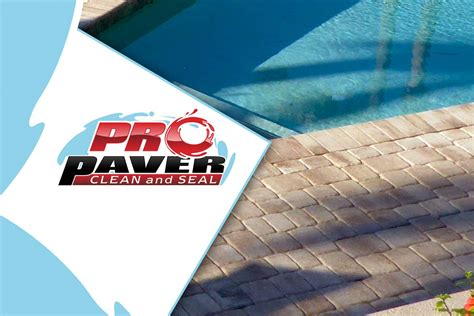 pool deck paver cleaning sealing  pro paver clean