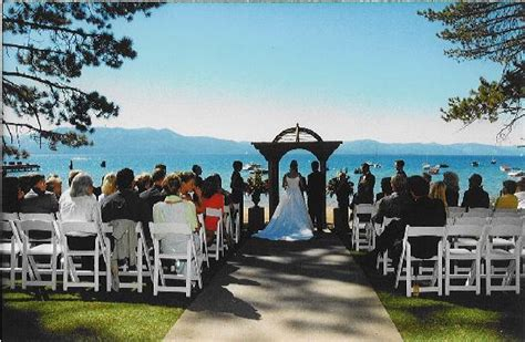wedding chapels in lake tahoe nv weddings on the at zephyr cove resort picture of