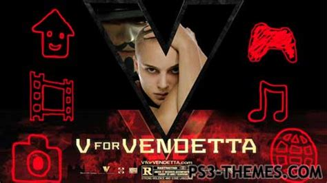 themes in v for vendetta film ps3 themes 187 v for vendetta