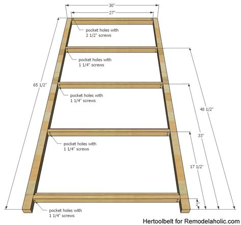 diy house frame bookshelf plans remodelaholic bloglovin