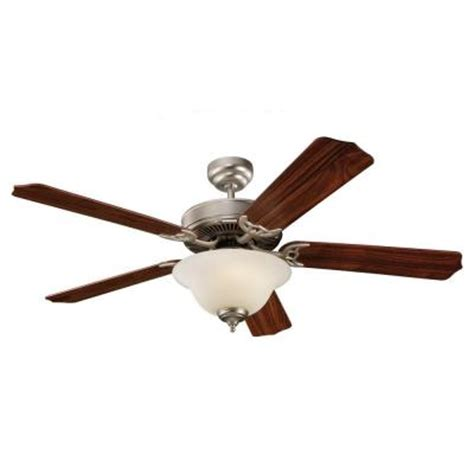 Home Depot Ceiling Fans With Light by Sea Gull Lighting Quality Max Plus 52 In Brushed Pewter Ceiling Fan 15030ble 892 The Home Depot