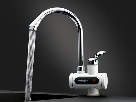 robinet electric digital delimano