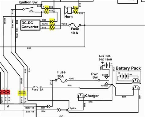 48 volt golf cart charger wiring diagram get free image