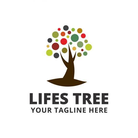 Kostenlose Vorlage Baum Farbige Baum Logo Vorlage Der Kostenlosen Vektor