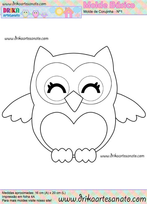 Printable Owl Holding A Card From Template Large by Owl Template Printable Just Cut These Out For The To