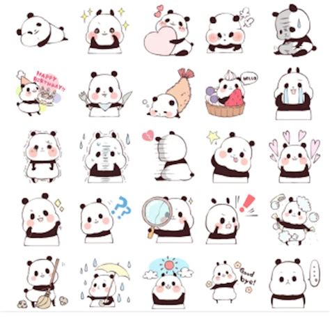 Telegram Panda Stickers