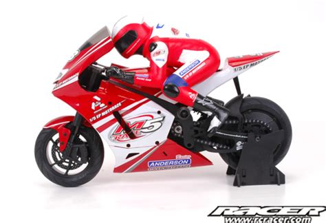 Rc Motorrad Anderson M5 by New Anderson Racing On Road Rc Bike Rc Racer The Home