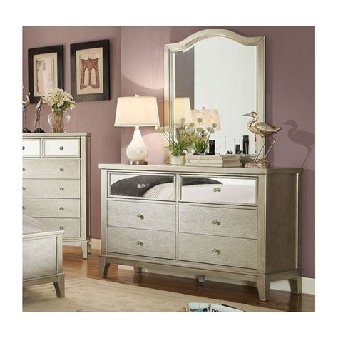 Bedroom Furniture Silver Silver Bedroom Furniture Sets Coralayne Silver Bedroom Set B650 157 54 96 Furniture Chantelle