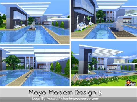 Home Design Dream House Cheats maya modern design 5 house by autaki at tsr 187 sims 4 updates