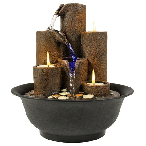 best choice products home accent tabletop fountain