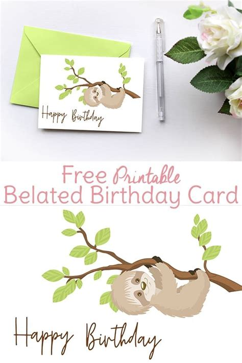 Free Belated Birthday Card Templates by 1287 Best Crafty Crafts Images On Gift Ideas