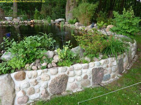 Gartenteich Garten Teich Gartenteich Bilder Und Garten Wasserfall Trockenmauer Naturstein