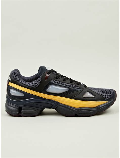 raf simons shoes all black adidas by raf simons ozweego 1 sneakers in black for multicolour lyst