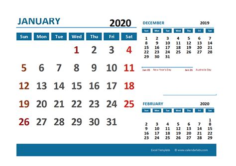 excel calendar  australia holidays  printable templates