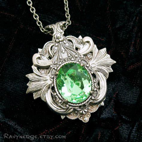elven arcana small necklace swarovski and silver