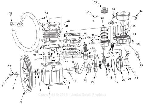 campbell hausfeld fpav parts diagram  pump parts
