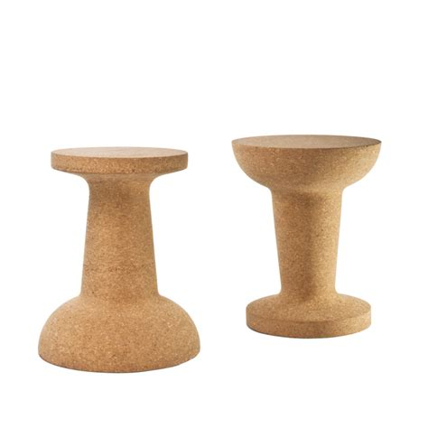 pushpin cork stool or table by cooima