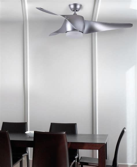techo electra ventilador electra fabril ventilador gris luz led
