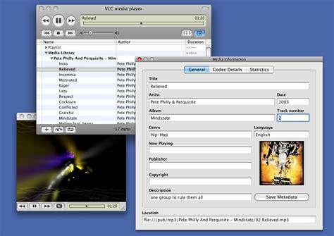 best mp3 player os x vlc screenshots videolan