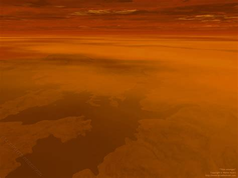 what does saturn look like on the surface titan saturn s moon surface pics about space