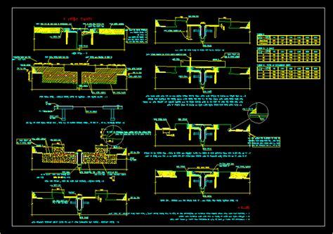 expantion joint dwg block  autocad designs cad