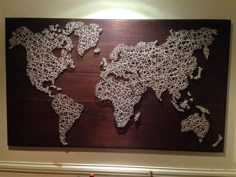 Home Decor Idea Best 25 Diy String Art Ideas On Pinterest Thread Art