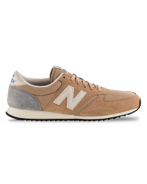 beige sneakers for new balance u420 beige suede sneakers in brown for