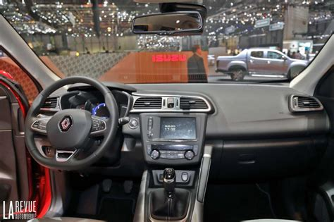 renault kadjar interior photo renault kadjar interieur