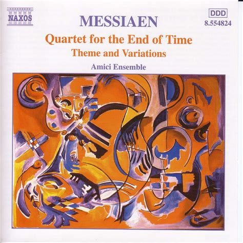 For The Of eclassical messiaen quartet for the end of time theme