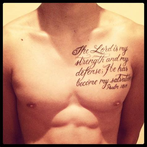 short bible verses about strength tattoo google search