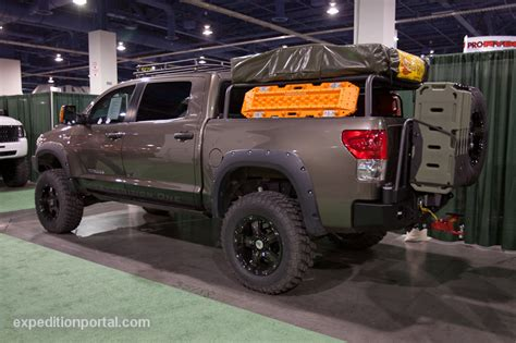off road bed rack expedition truck bed