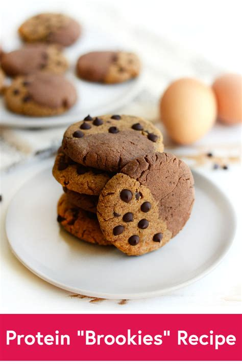 protein cookie recipe protein quot brookies quot cookie recipe by daily burn