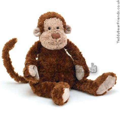 chubble monkey jellycat teddy bear friends