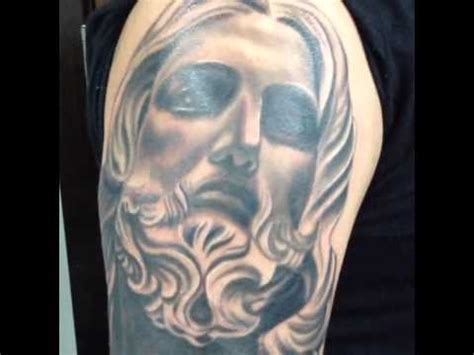jesus tattoo youtube salvadore bernini christ jesus tattoo youtube