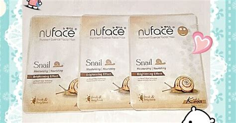Nuface Mask Sheet review sheet mask nuface prominent essence mask